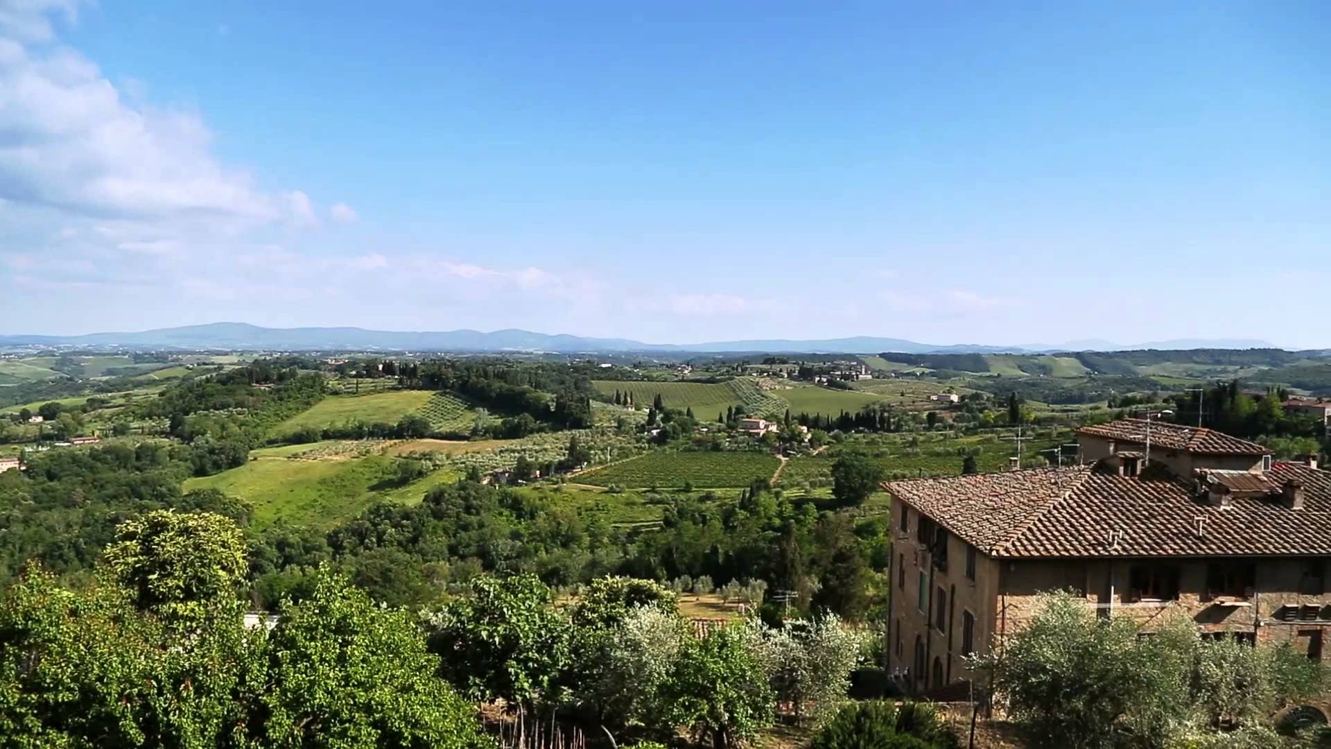 Tuscan landscape between florence and siena everybody for Is florence in tuscany