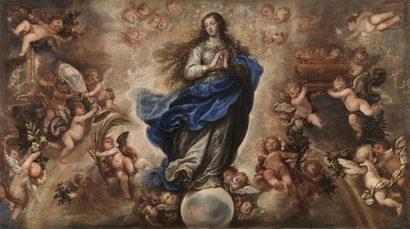 The Feast of the Immaculate Conception is a National Holiday every December 8th