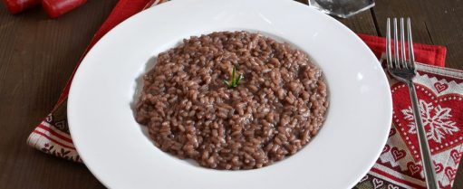 What part of Italy is famous for risotto all'amarone?