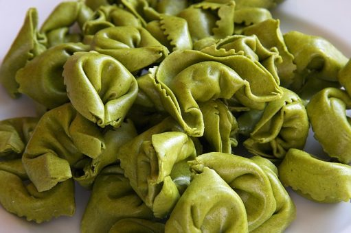What region of Italy is famous for tortellini?